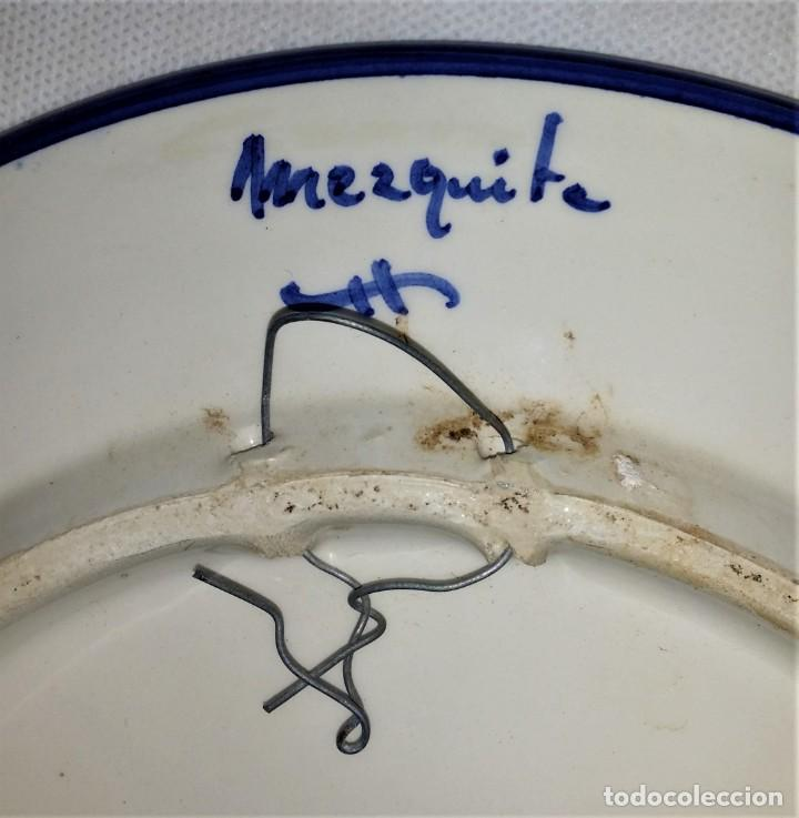 "Vintage: Precioso lote de 3 platos de porcelana / cerámica andaluces ""Mezquita"" - Envío gratis Península - Foto 6 - 237367365"