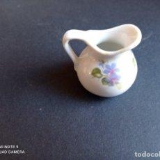 Vintage: MINI JARRON DE FLORES EN PORCELNA. Lote 238199595