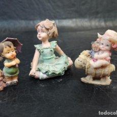 Vintage: CONJUNTO 3 FIGURITAS INFANTILES. C36. Lote 238767355