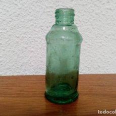 Vintage: BOTELLA SIDOL CON LETRAS EN RELIEVE EN LA BASE AÑOS 70. Lote 242946265