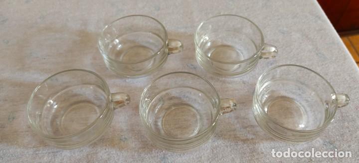 Vintage: Cinco tazas curiosas de cristal - Foto 2 - 243583030
