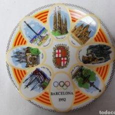 Vintage: PLATO CERAMICA. OLIMPIADAS. BARCELONA 92.. Lote 244598540