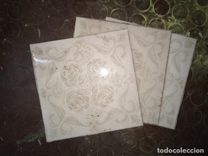 AZULEJO COCINA-BAÑO AÑOS 60-70 15X15CM (Vintage - Decoración - Porcelanas y Cerámicas)