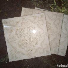 Vintage: 60 AZULEJOS COCINA-BAÑO AÑOS 60-70 15X15CM. Lote 245362190