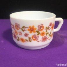 Vintage: TAZA DESAYUNO ARCOPAL FRANCE. Lote 245781605