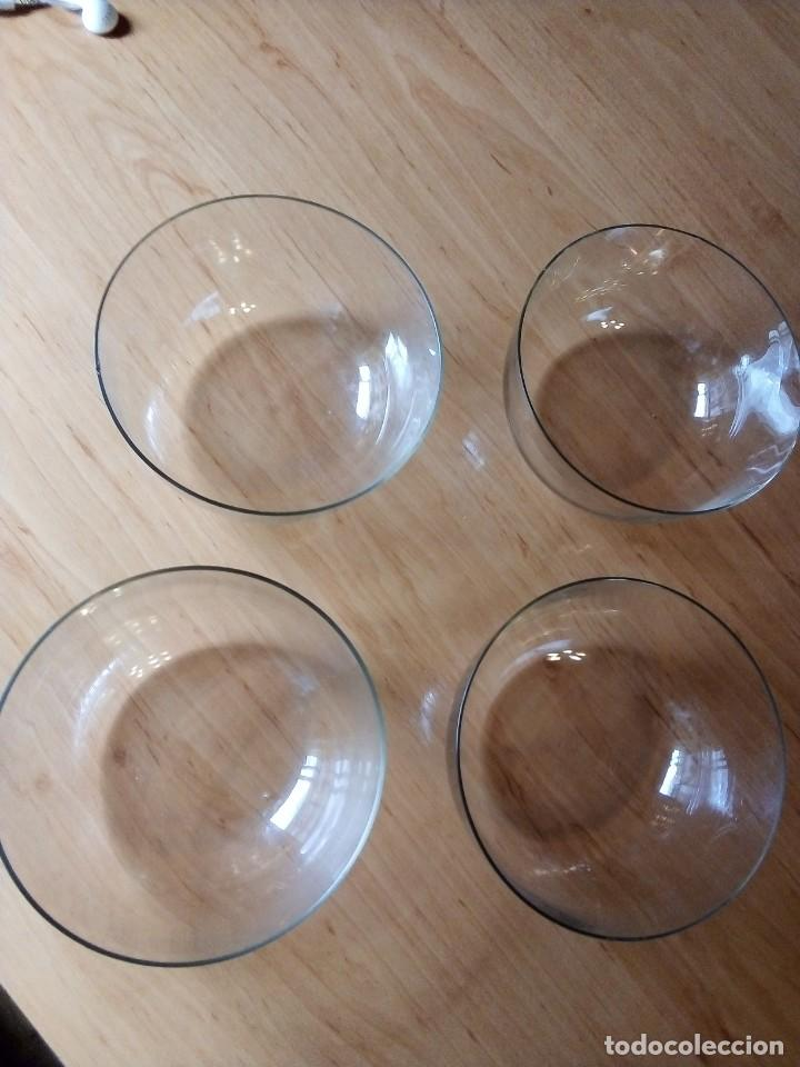 Vintage: Cuencos de cristal aperitivo, postre... Lote 4 - Foto 2 - 246709390