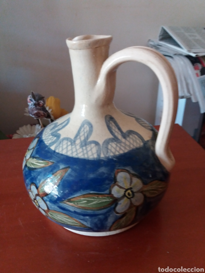 Vintage: Cántaro de cerámica pintada a mano - Foto 2 - 247496070
