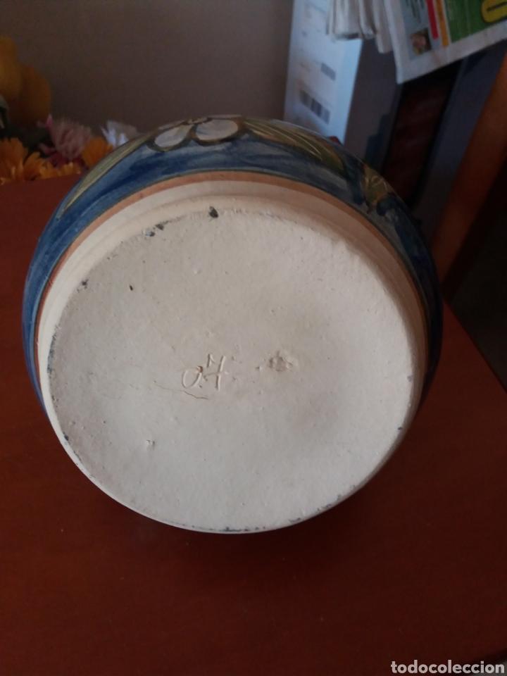 Vintage: Cántaro de cerámica pintada a mano - Foto 3 - 247496070
