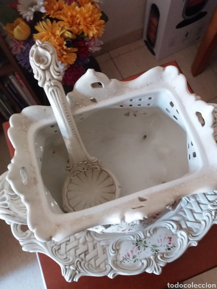 Vintage: Sopera con bandeja decorativo - Foto 2 - 247499005