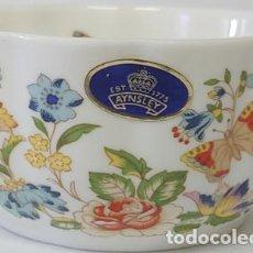 Vintage: CUENCO EN CERAMICA INGLESA AYNSLEY'S -COLECCION VAR-I-ETÉ BOWL. Lote 248745370