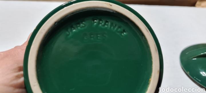 Vintage: Bonita Caja joyero o polvera de gres. Firma Jars, de France. - Foto 3 - 250343685