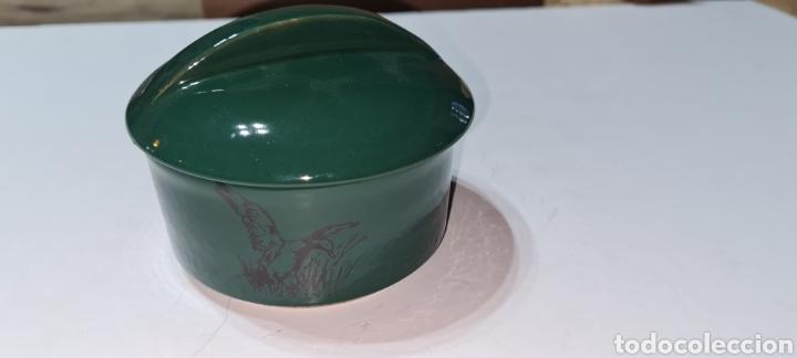 BONITA CAJA JOYERO O POLVERA DE GRES. FIRMA JARS, DE FRANCE. (Vintage - Decoración - Porcelanas y Cerámicas)