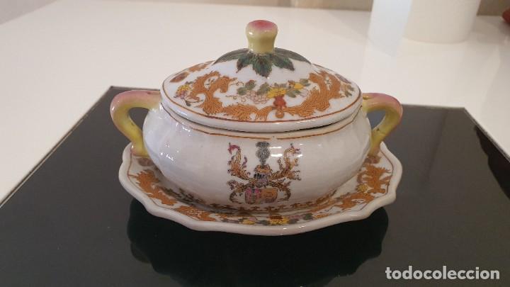 MINI SOPERA PORCELANA (Vintage - Decoración - Porcelanas y Cerámicas)
