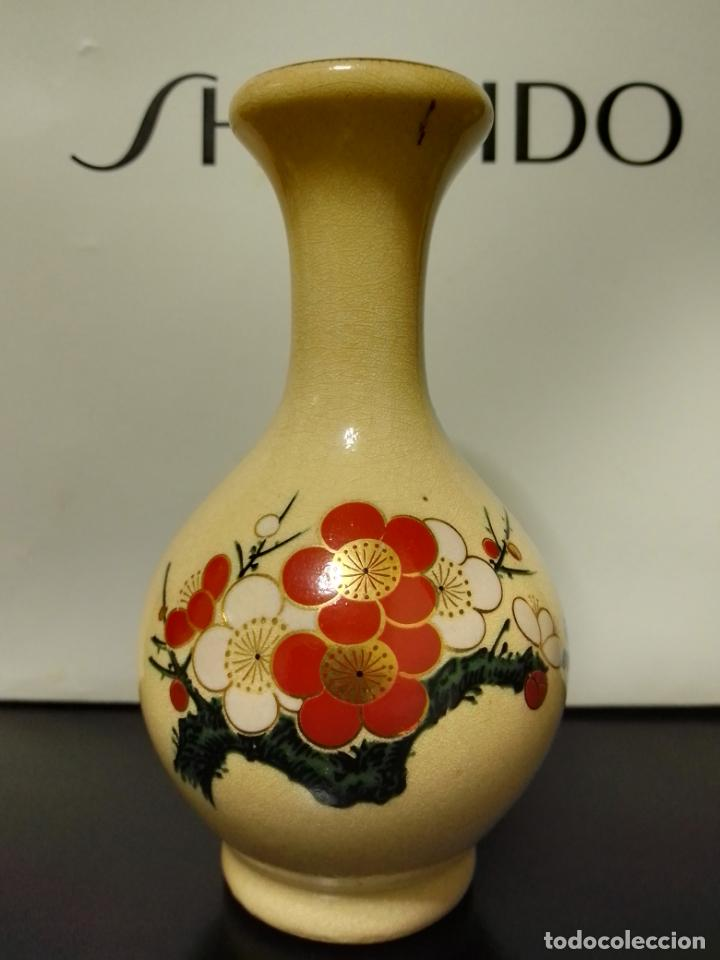 Vintage: Satsuma Japan. Tres bonitas piezas con decoración variada . - Foto 5 - 253358920
