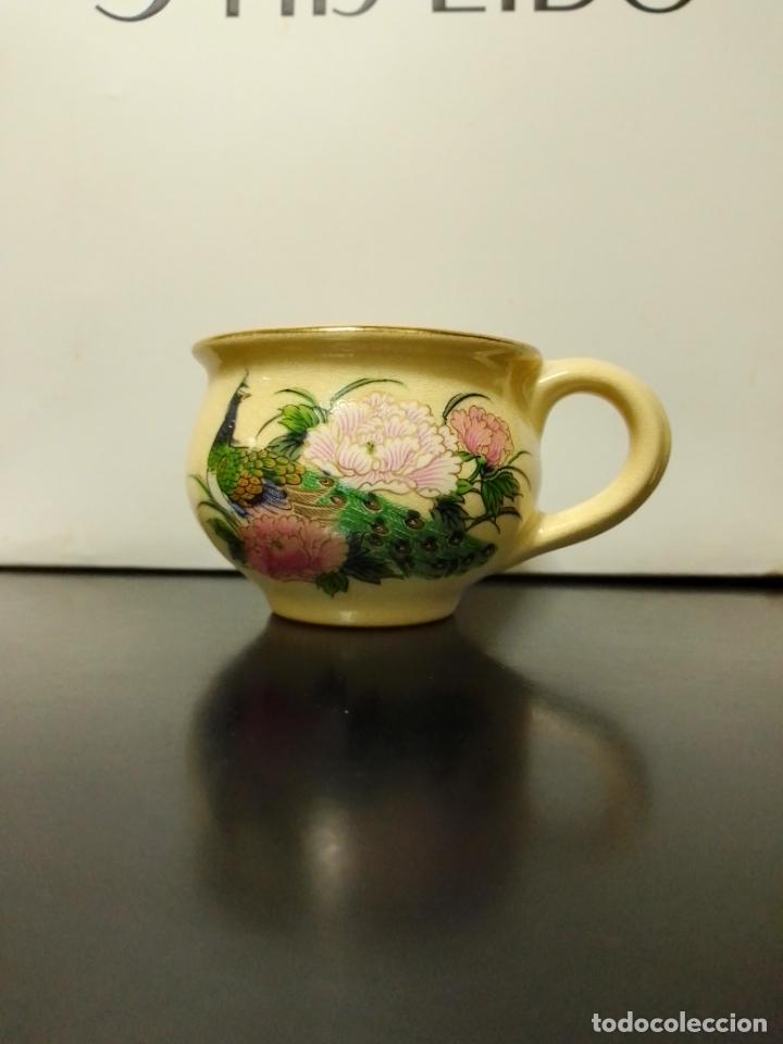 Vintage: Satsuma Japan. Tres bonitas piezas con decoración variada . - Foto 8 - 253358920