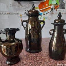 Vintage: PAREJA DE TIBOR Y JARRA GRES STONES WARE INTER SELECT. Lote 253867895