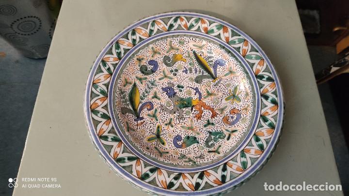 PLATO CERAMICA (Vintage - Decoración - Porcelanas y Cerámicas)