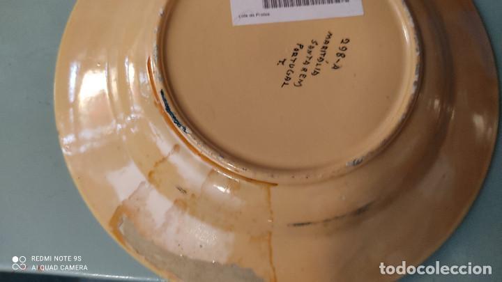 Vintage: 2 platos de ceramica antiguo - Foto 2 - 255396300