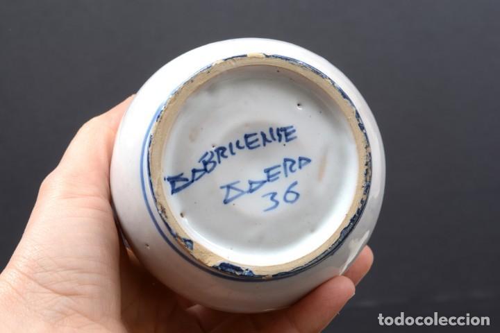 Vintage: Albarelo tarro de farmacia vintage de cerámica de Talavera, España, tarro herbolario - Foto 7 - 255565355