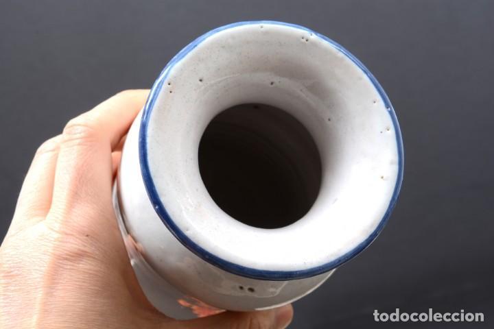 Vintage: Albarelo tarro de farmacia vintage de cerámica de Talavera, España, tarro herbolario - Foto 9 - 255565355
