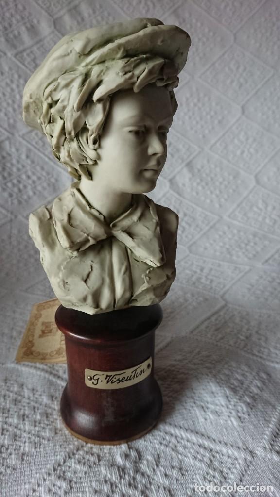 """Vintage: ESCULTURA DE PORCELANA BISQUIT COLECCIÓN """"PORCELLAN DARTE RICHELIEU"""". G. VISEUTIN. EDICION LIMITADA - Foto 4 - 257524280"""