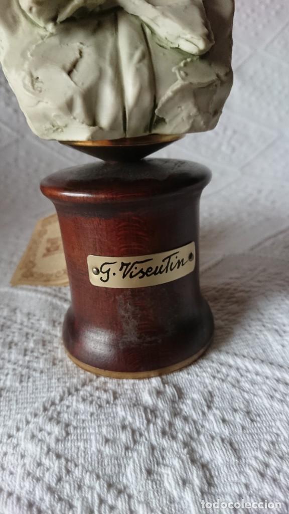 """Vintage: ESCULTURA DE PORCELANA BISQUIT COLECCIÓN """"PORCELLAN DARTE RICHELIEU"""". G. VISEUTIN. EDICION LIMITADA - Foto 5 - 257524280"""