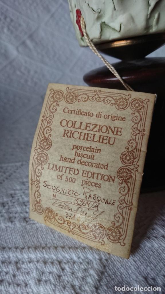"""Vintage: ESCULTURA DE PORCELANA BISQUIT COLECCIÓN """"PORCELLAN DARTE RICHELIEU"""". G. VISEUTIN. EDICION LIMITADA - Foto 9 - 257524280"""