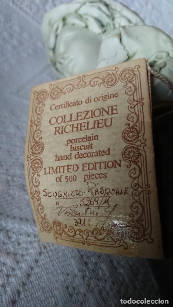 """Vintage: ESCULTURA DE PORCELANA BISQUIT COLECCIÓN """"PORCELLAN DARTE RICHELIEU"""". G. VISEUTIN. EDICION LIMITADA - Foto 15 - 257524280"""