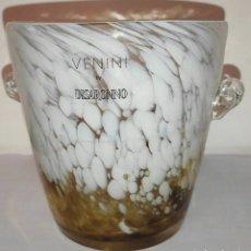Vintage: VENINI BY DISARONNO, MURANO PORTA GHIACCIO. Lote 260449555