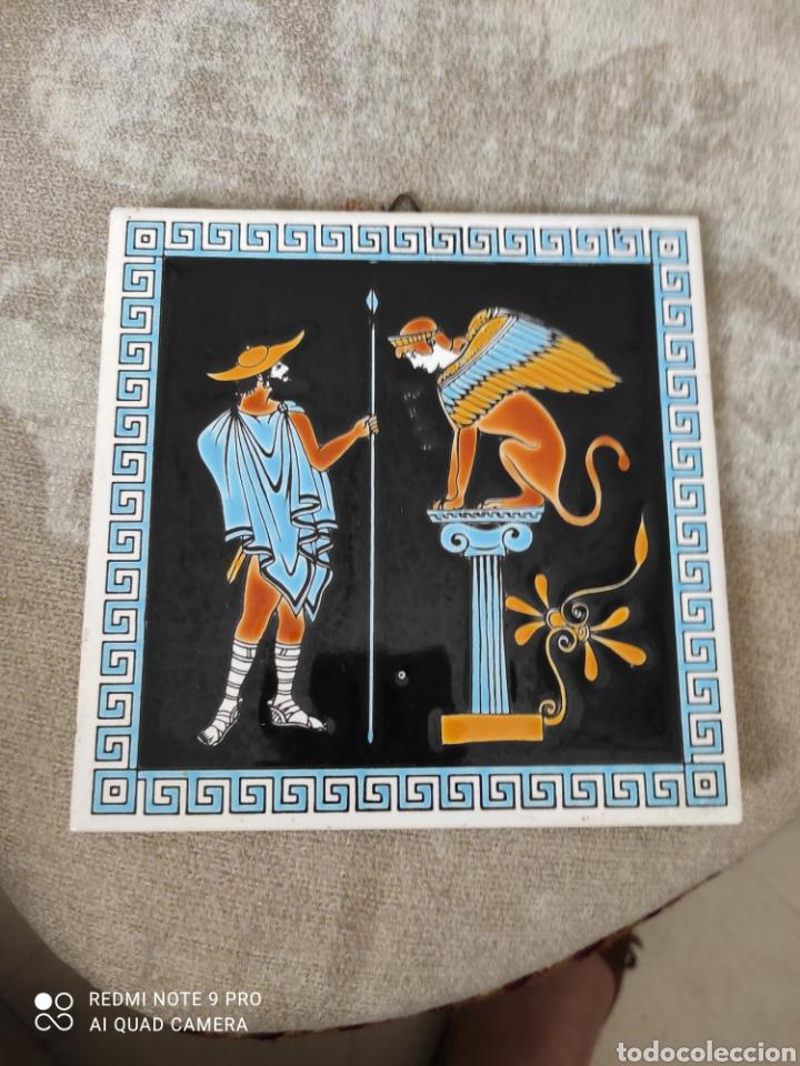 Vintage: Azulejo decoración exterior - Foto 2 - 262050375