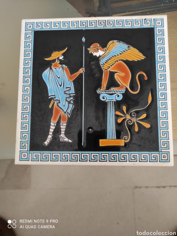 AZULEJO DECORACIÓN EXTERIOR (Vintage - Decoración - Porcelanas y Cerámicas)