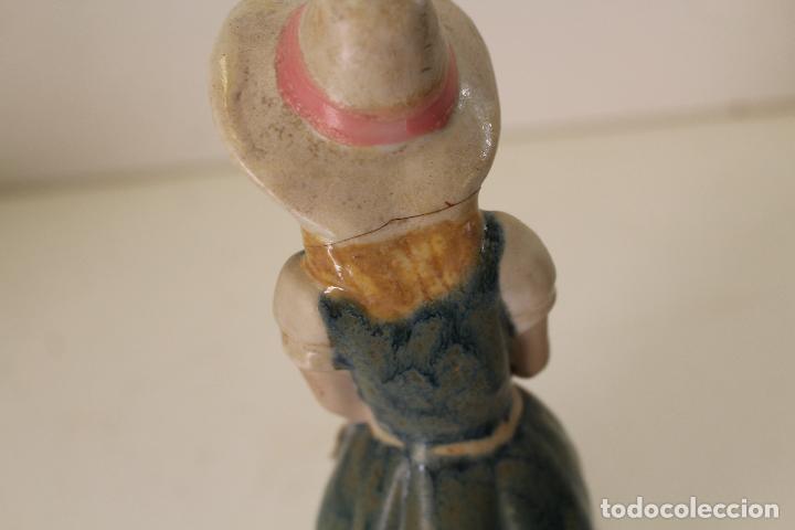Vintage: niña con patos porcelana - Foto 4 - 262844040