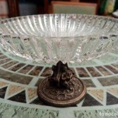 Vintage: COPA DE CRISTAL TALLADO. Lote 262904450