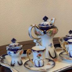 Vintage: JUEGO DE CAFE MINI TU Y YO DE PORCELANA. Lote 263055810