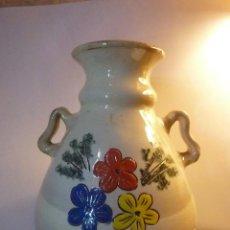 Vintage: PRECIOSO JARRÓN O ÁNFORA FIRMADO DURANGO. Lote 266156523