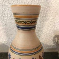 Vintage: JARRÓN FLORERO CERÁMICA DE TALAVERA. Lote 266384803