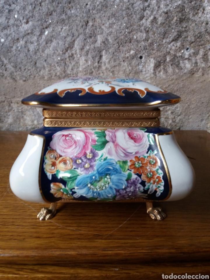 Vintage: Joyero Limoges (pintado a mano) - Foto 4 - 266559293