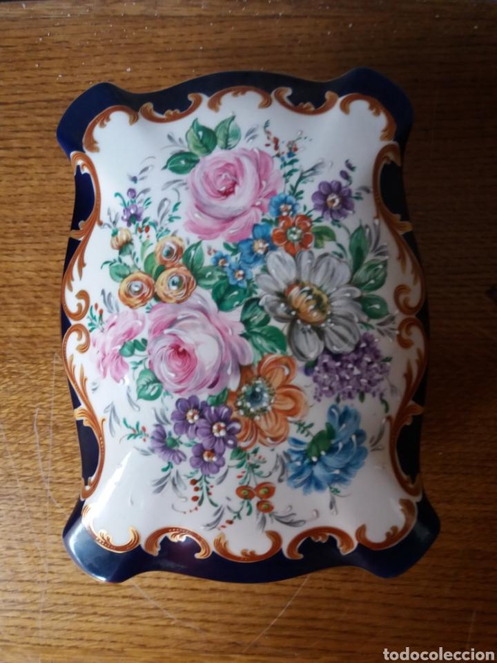Vintage: Joyero Limoges (pintado a mano) - Foto 5 - 266559293