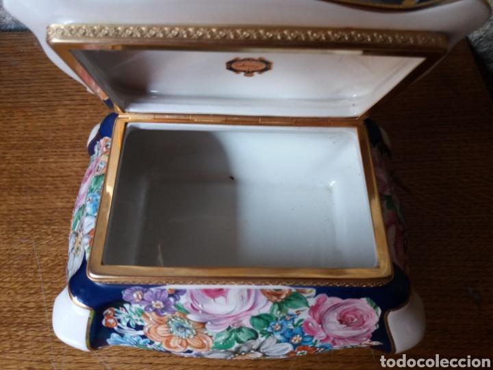 Vintage: Joyero Limoges (pintado a mano) - Foto 7 - 266559293