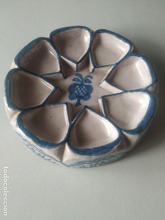 FUENTE BANDEJA NAZARÍ. ENCARNACIÓN CERÁMICAS. (Vintage - Decoración - Porcelanas y Cerámicas)