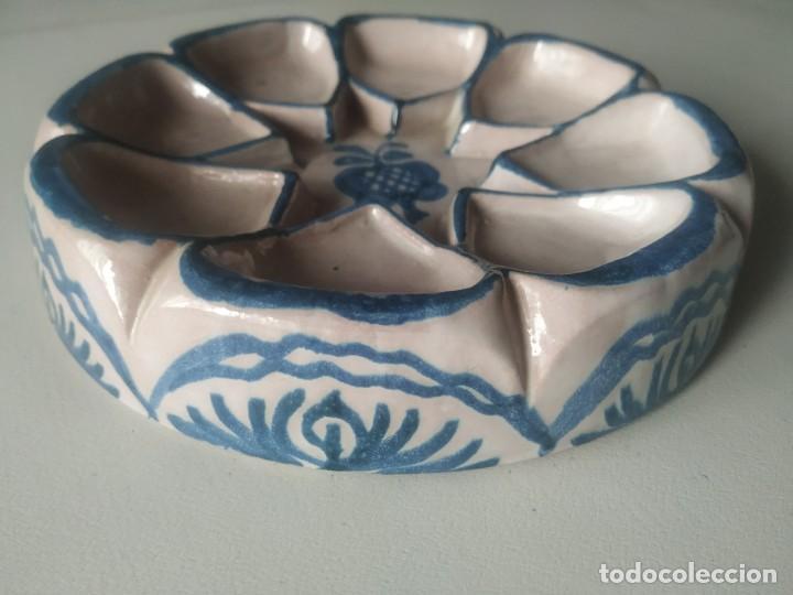 Vintage: Fuente bandeja nazarí. Encarnación cerámicas. - Foto 2 - 266791764