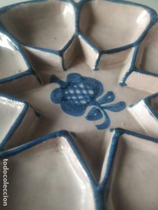 Vintage: Fuente bandeja nazarí. Encarnación cerámicas. - Foto 3 - 266791764