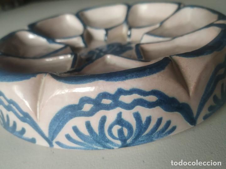 Vintage: Fuente bandeja nazarí. Encarnación cerámicas. - Foto 4 - 266791764