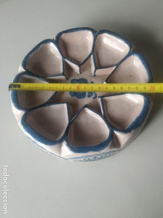 Vintage: Fuente bandeja nazarí. Encarnación cerámicas. - Foto 8 - 266791764