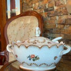 Vintage: SOPERA DE PORCELANA. Lote 268163939