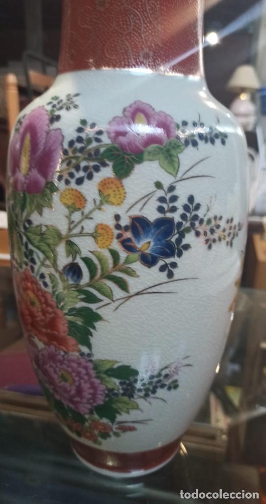 Vintage: BONITO JARRON PORCELANA JAPON - Foto 4 - 275340013