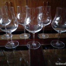 Vintage: JUEGO DE SEIS COPAS ALTAS. Lote 277723893