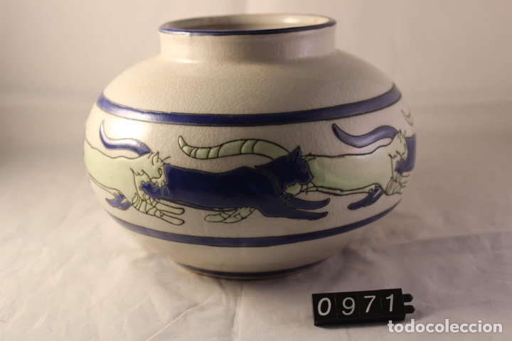 Vintage: Jarron ceramica Keralouve Lalouviere - Foto 2 - 278570183