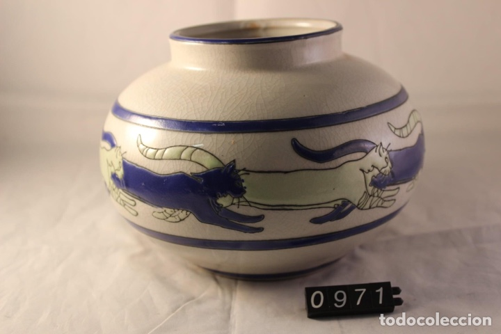 Vintage: Jarron ceramica Keralouve Lalouviere - Foto 3 - 278570183