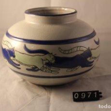 Vintage: JARRON CERAMICA KERALOUVE LALOUVIERE. Lote 278570183